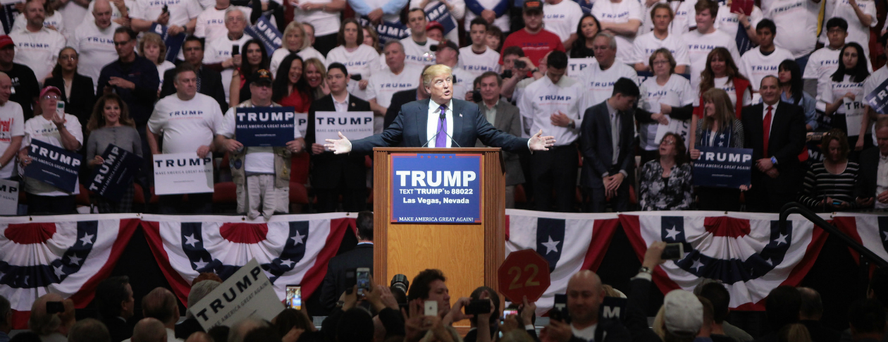 Party movements and Donald Trump