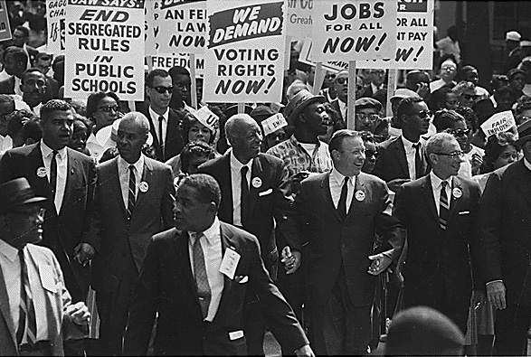 Civil Rights Movement Protest