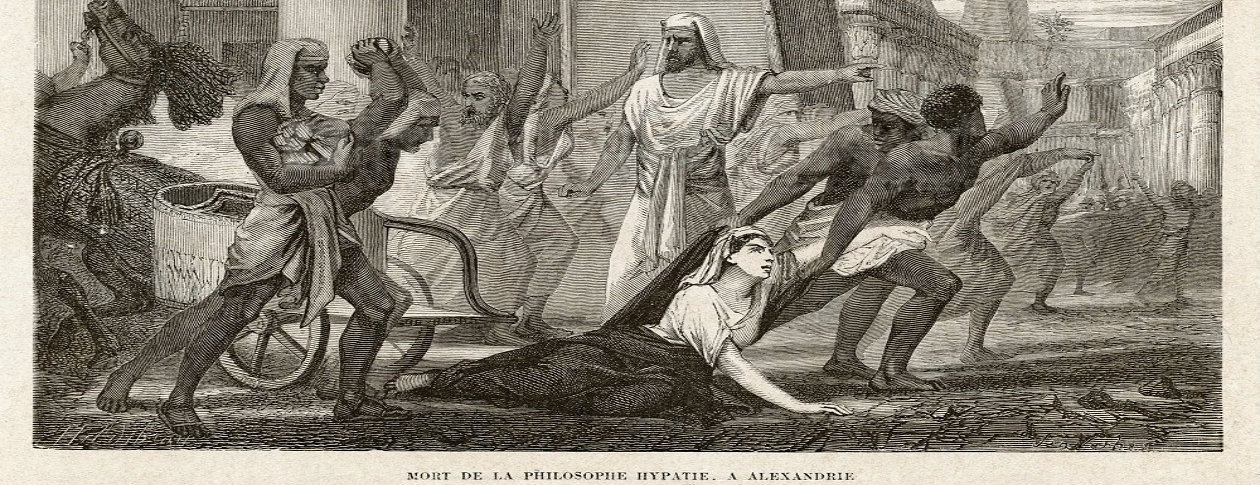 the life and work of hypatia Hypatia (born c 350–370 died 415 ad) was a hellenistic neoplatonist  philosopher,  according to a description of hypatia from the lost work life of  isidore by the neoplatonist historian damascius (c 458 – c 538), preserved in  the entry for.