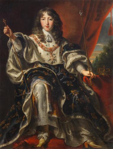'King Louis XIV of France' by Justus van Egmont. CC via Wikimedia Commons.