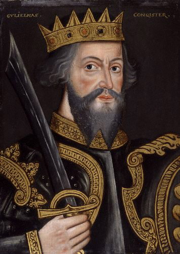 Portrait of William the Conqueror by an unknown artist, circa 1620. Courtesy of the National Portrait Gallery, London. Public domain via Wikimedia Commons.