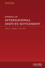Journal of International Dispute Settlement (JIDS)