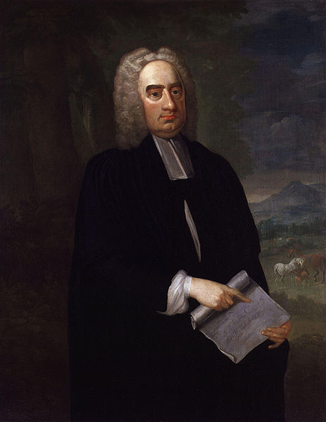 Jonathan Swift did not like to be boddered