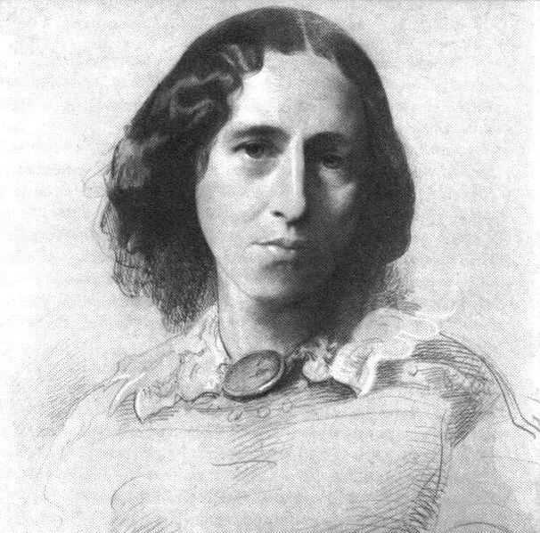 606px-George_Eliot_by_Samuel_Laurence