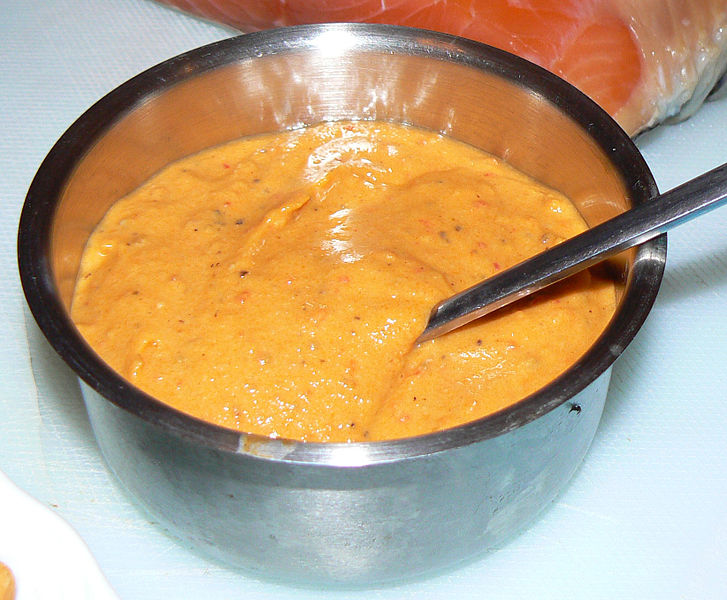Rouille is a kind of French sauce. Have you ever tasted it? Ouida might have liked it.
