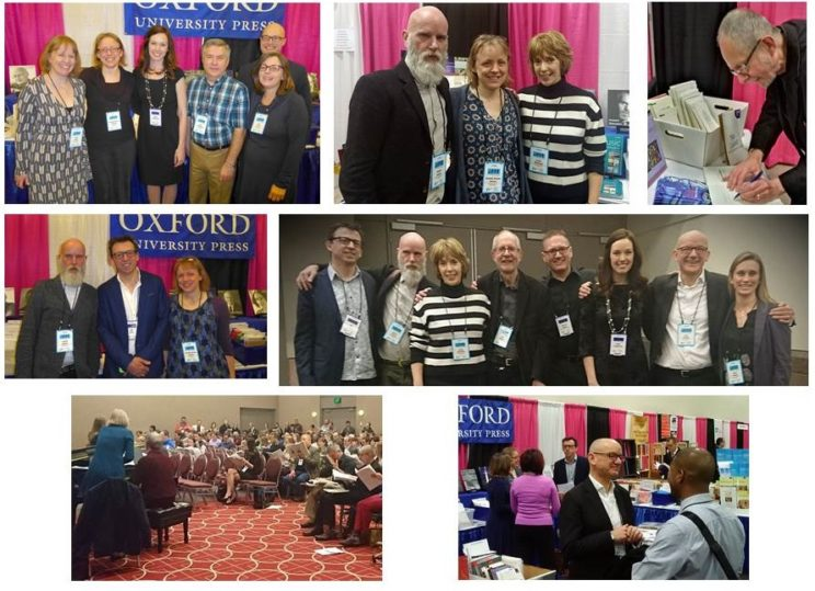 Staff, composers and delegates from ACDA 2017. Image copyright: Oxford University Press.