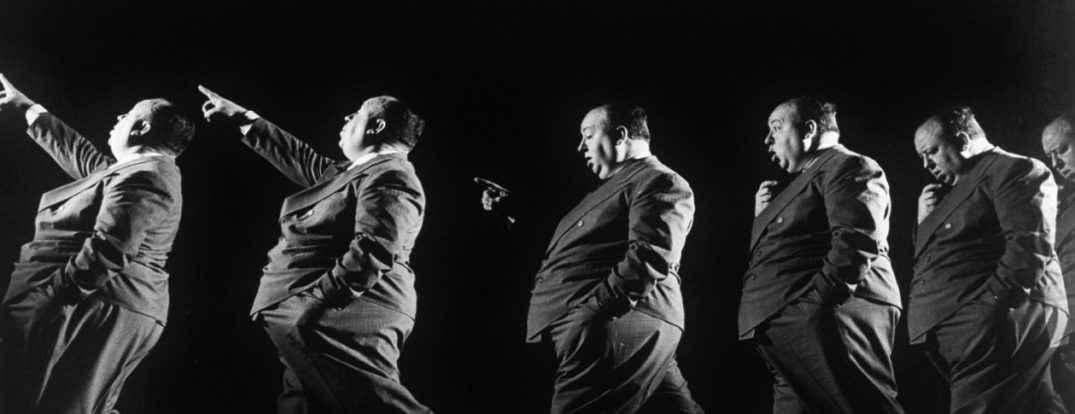 Multiple exposure of Alfred Hitchcock 1942