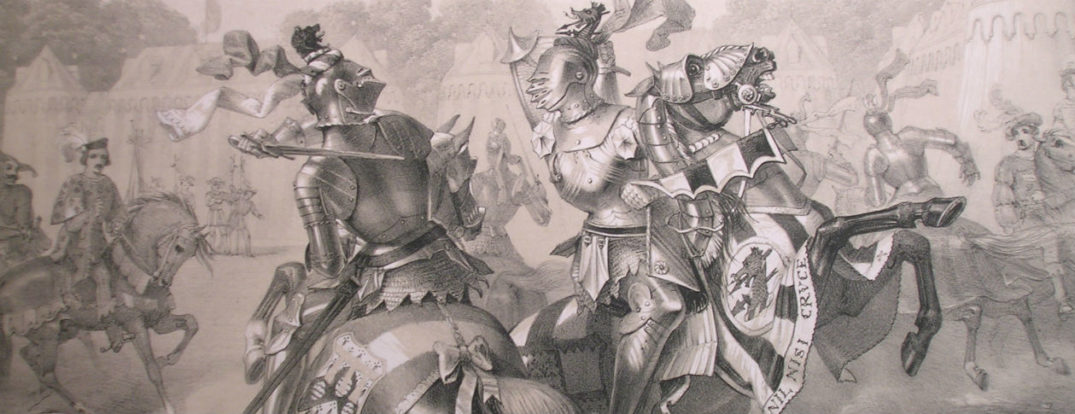 The_Joust_between_the_Lord_of_the_Tournament_and_the_knight_of_the_Red_Rose