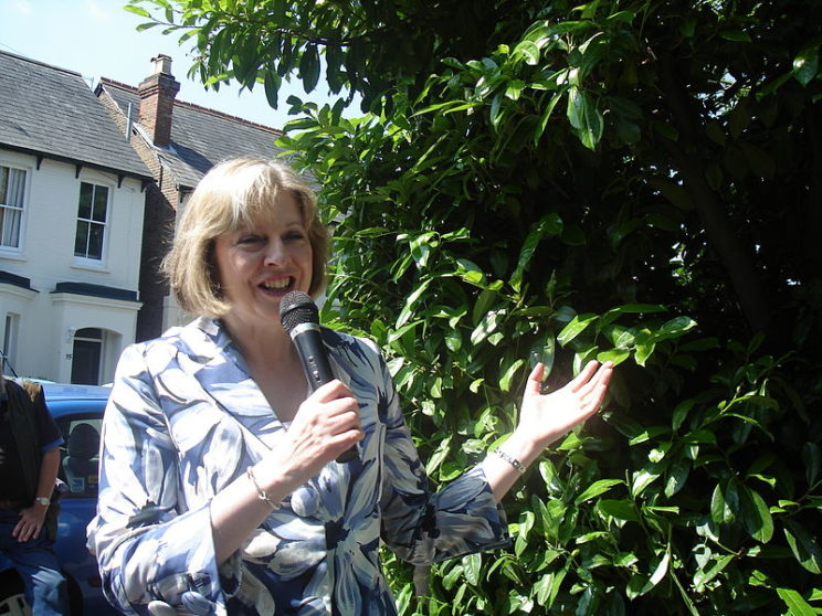 Theresa May in 2007. By Andrew Burdett. CC-BY-3.0 via Wikimedia Commons.