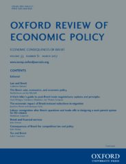 Oxford Review of Economic Policy