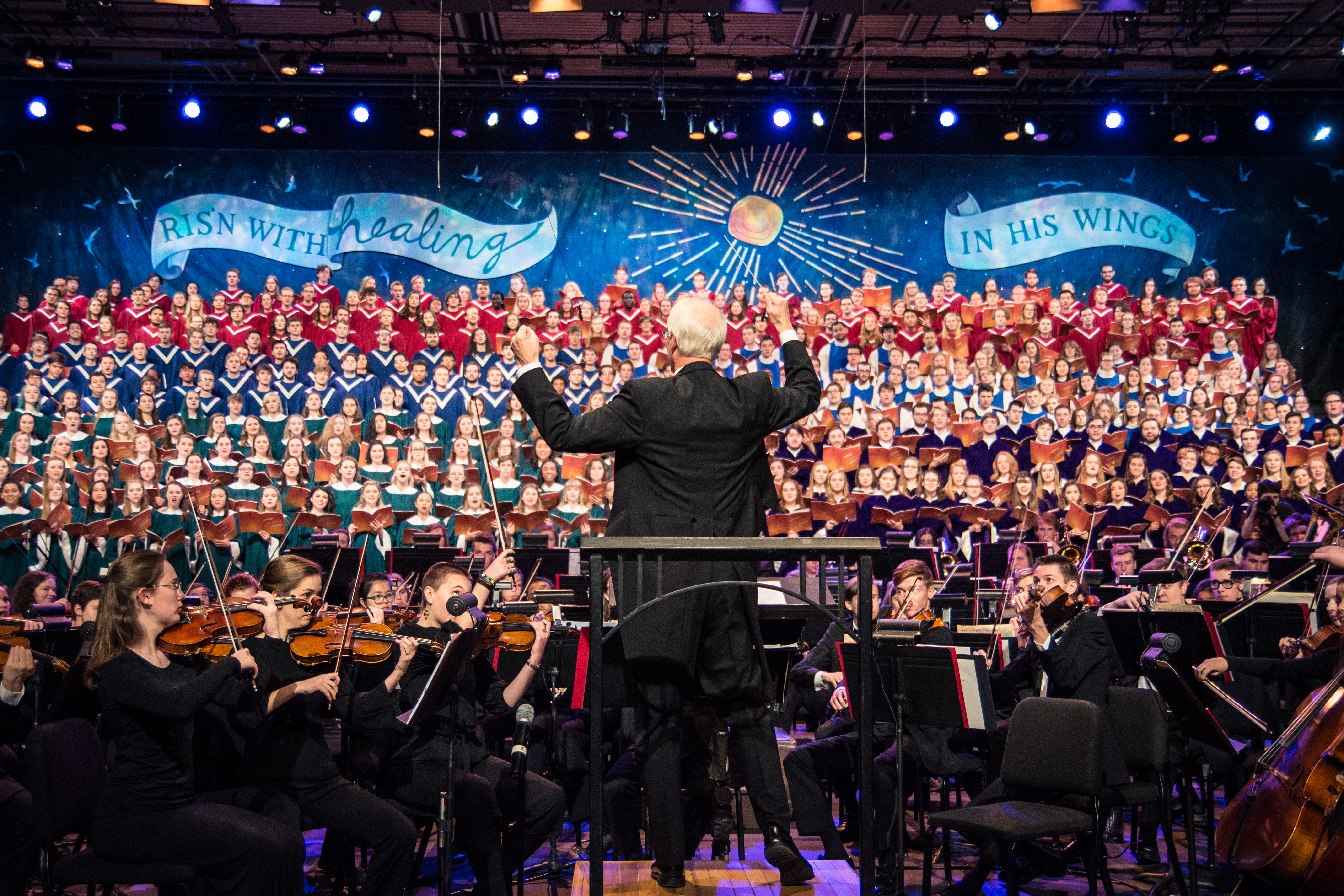 Celebrating the Christmas season with choral music