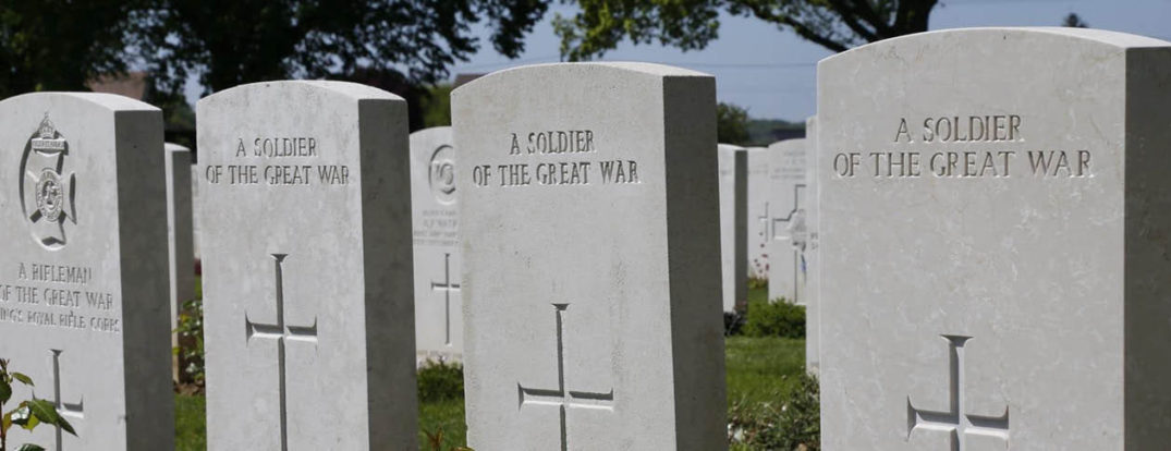 Great War graves