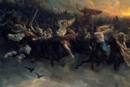 Wild Hunt of Odin by Peter Nicolai Arbo