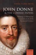John Donne & the Conway Papers