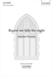 Round me falls the night by Annabel Rooney
