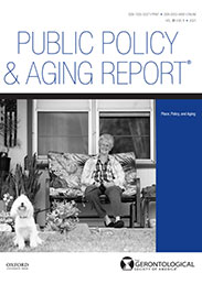 Public Policy and Aging Report