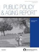 Public Policy & Aging Report